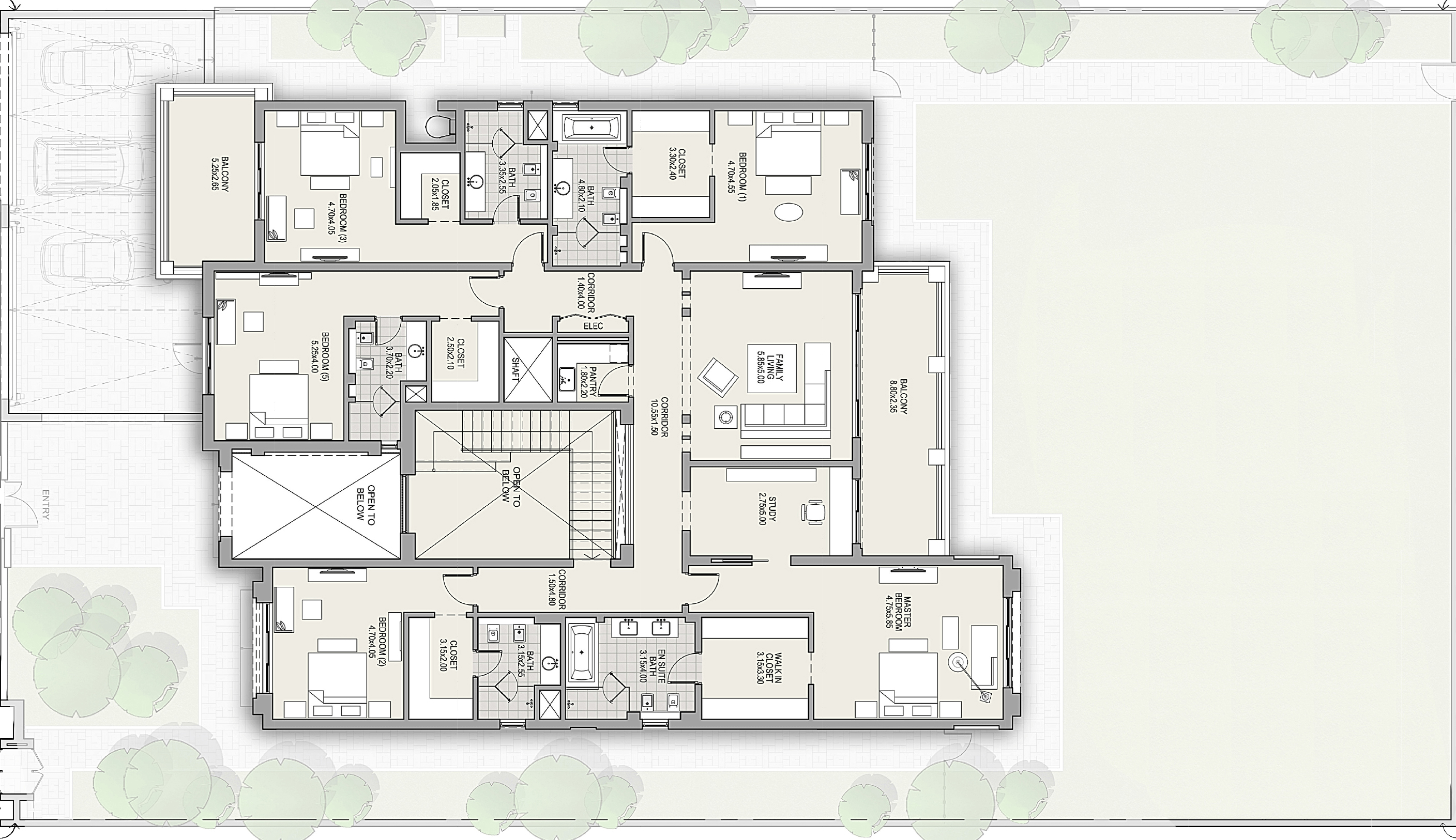 First Floor - Villa - Modern Arabic